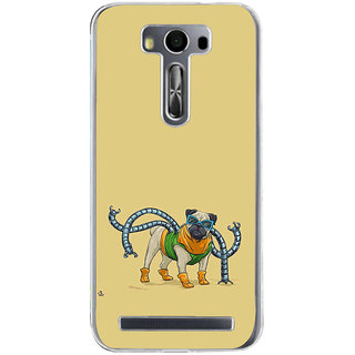 ifasho Dog with colourful  Specs Back Case Cover for Zenfone 2 Laser ZE500KL