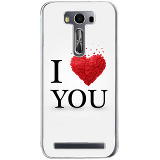 ifasho Love Quotes I love you Back Case Cover for Zenfone 2 Laser ZE500KL