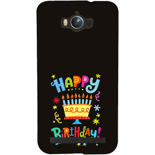 ifasho Wishing Happy birtday For Occassion Back Case Cover for Asus Zenfone Max