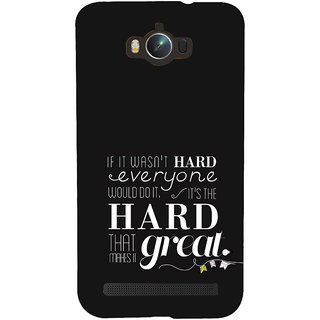 ifasho quotes on success Back Case Cover for Asus Zenfone Max