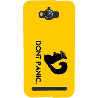 ifasho Dont panic quotes Back Case Cover for Asus Zenfone Max