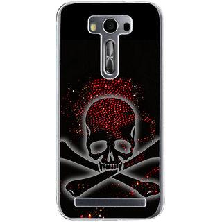 ifasho Modern  Design animated skeleton Back Case Cover for Zenfone 2 Laser ZE500KL