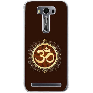 ifasho Modern Art Om design pattern Back Case Cover for Zenfone 2 Laser ZE500KL