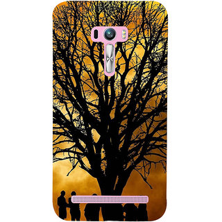 ifasho 3Dee Painting with people  Back Case Cover for Asus Zenfone Selfie