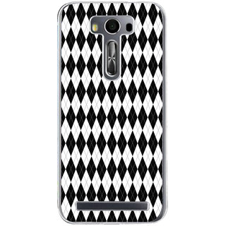 ifasho Animated Pattern of Chevron Arrows royal style Back Case Cover for Zenfone 2 Laser ZE500KL