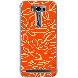 ifasho Animated Pattern colrful traditional design cloth pattern Back Case Cover for Zenfone 2 Laser ZE500KL