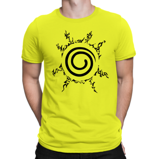 Desi Swag Yellow Round Neck Half Sleeve T-Shirt for Men