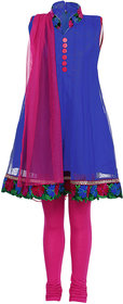 Aarika Girls Anarkali Churidar Suit