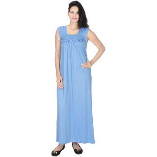 Buy Kanika Women Cotton Nighty-Blue Online - Get 61% Off 67e6066644
