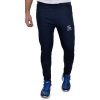 Surly Navy Maroon Polyester Trackpant