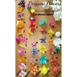 Buy origami flower book by devendra kandalkar online get 14 off origami flower book by devendra kandalkar mightylinksfo