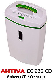 Antiva Small Office Shredder -  CC 225 CD