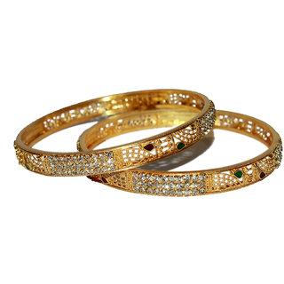 Lakshya Gold Plated Bangles-L-016