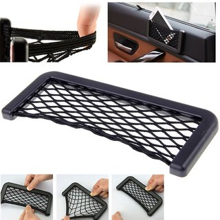 aeoss universal storage bag box car seat side back net phone holder pocket organizer a327l. Black Bedroom Furniture Sets. Home Design Ideas