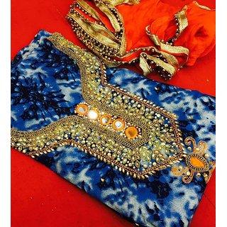 Fashion Women's Bhagalpuri Anarkali Dress Material