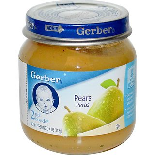 GERBER 2ND FOODS 113G - PEARS - 3407