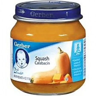 GERBER 2ND FOODS 113G - SQUASH - 1700