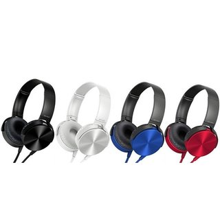 Kewin Super Bass Headphone MDR-XB450 Type (Colour May Very)