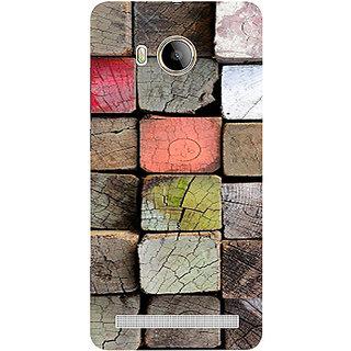 Casotec Wood Lumber Paint Design 3D Printed Hard Back Case Cover for Vivo Xshot