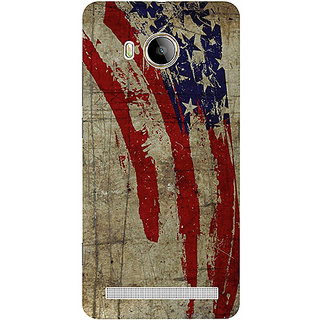 Casotec Vintage American Flag Design 3D Printed Hard Back Case Cover for Vivo Xshot
