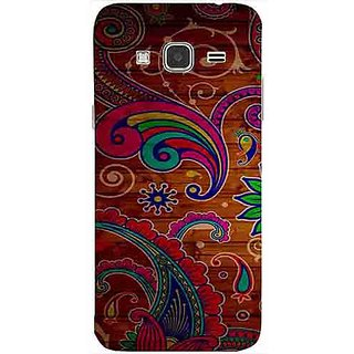 Casotec Wooden Pattern Print Design 3D Printed Back Case Cover for Samsung Galaxy J3 (2016)
