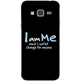 Casotec Quotes Design 3D Printed Back Case Cover for Samsung Galaxy J3 (2016)