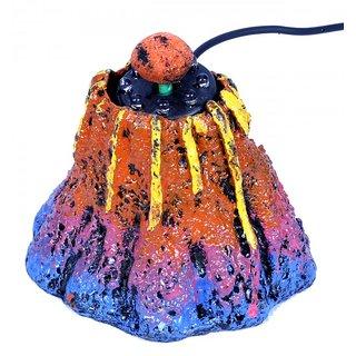 Aquarium Submersible Volcano Multicolor Light