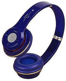 S460 Wireless Bluetooth Headphone With Mic Color Blue