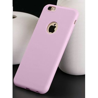 VSDEALS Apple iPhone 6 (4.7) Silicone Case Rubber Soft Skin Cover Baby pink