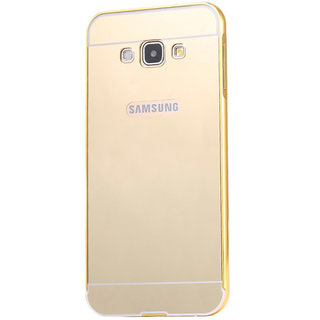 Golden Mirror Back Cover for Samsung Galaxy J7(2016)