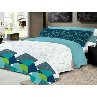 AryaahiCreations - Pure cotton king size bed sheet with attractive design and fine quality