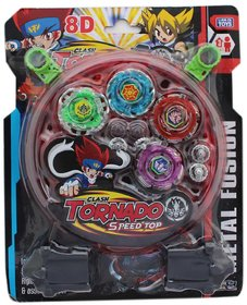 BEYBLADE 4 WITH 2 LAUNCHER