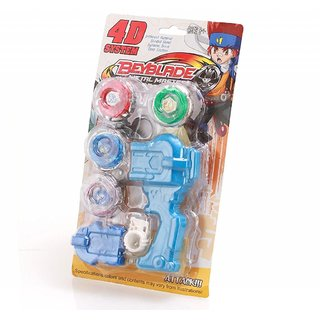BEYBLADE 4 WITH HANDLE LAUNCHER