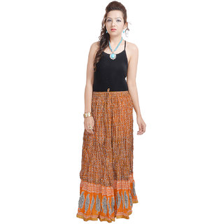 Rajasthani Ethnic Multicolor Cotton Skirt