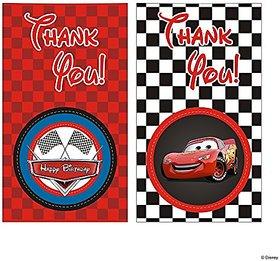 Disney Cars Thank You Tags