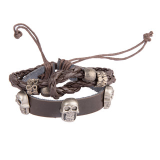 Diva Walk brown leather bracelet-00951