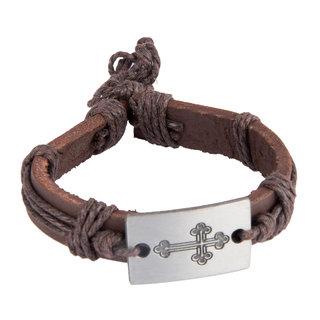 Diva Walk brown leather bracelet-00960