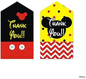 Disney Mickey Mouse Thank You Tags