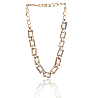 Diva Walk gold alloy necklace-00946