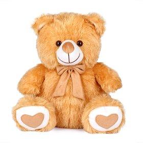 Montez  Fabric And Soft Fur Teddy Bear