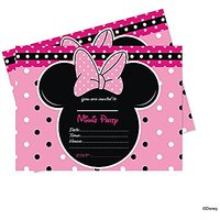 Disney Minnie Mouse Invitation Cards