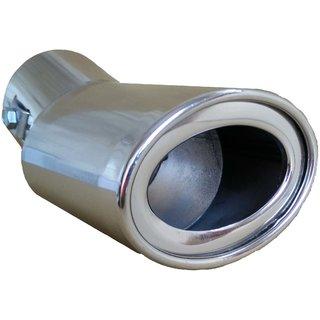 AutoPop Stainless Steel Exhaust Muffler Silencer Cover for Datsun Go