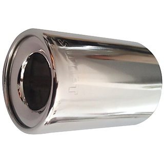 AutoPop Stainless Steel Exhaust Muffler Silencer Cover for Maruti Suzuki Old Swift
