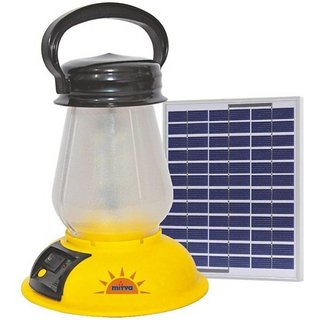 Solar Lanter - 3W Emergency Lights  (Yellow)