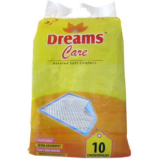 Dreams Care underpads combo of 3 packet