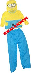 Meenion Cartoon Fancy Dress Costume For Kids