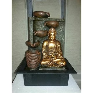 3D Buddha Head Indoor water fountain Home decor/office decor/gift