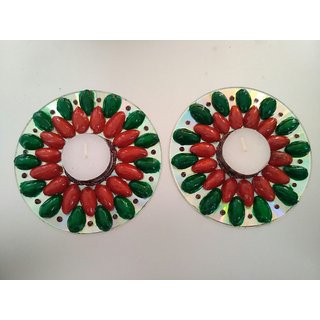CD Candle Pair of 2