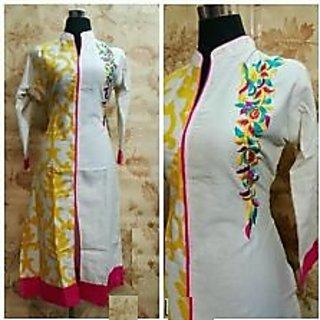 Glamorous Long Embroidery Kurti / Kurta