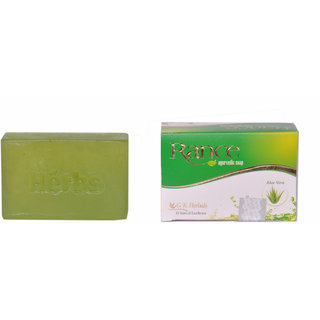 Gk Herbal Natural Organic Rance Aloe Vera Ayurvedic Soap -100 Gm